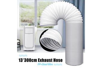 Warmtoo DIA-13cm 150/200/300CM Exhaust Hose for Portable Air Conditioner(3 m)