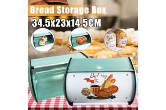 Bread Bin Bread Box Storage Keeper Loaf Kitchen Coffee Shop