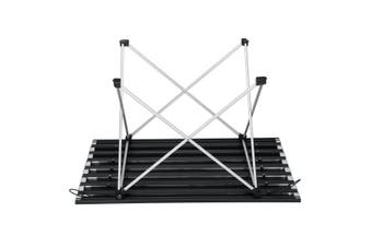 AU Roll Up Table Folding Portable Camping Picnic Garden BBQ Party 68x46x40cm