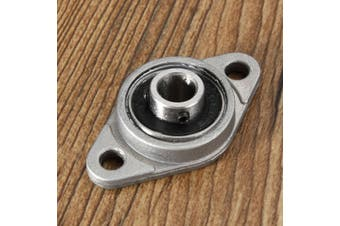 8mm to 35mm Zinc Alloy Flanged Pillow Block Self Aligning Ball Bearings !!