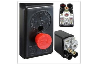 90 PSI -120 PSI Heavy Duty Air Compressor Pressure Switch Control Valve 20A/AC 220V