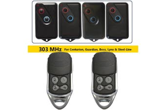 1/2PCS 4-Channel 303 MHz Remote Control Key Garage Door For Boss for Lynx & Steel-Line