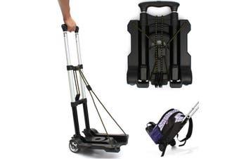 50kg Portable Foldable Folding Luggage Shopping Trolley Transport Sack Hand Cart