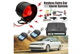 Car Remote Central Alarm Security Locking Power Door Lock Keyless Entry System Shock Sensor