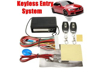 Car Remote Control Central Door Lock Locking Keyless Entry System KitCar Styling Accessories Car Auto Remote Central Kit Door Lock Locking Vehicle Keyless Entry System With Remote Controllers