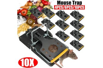 Mouse Trap Works Small Mouse Snap Trap Power Mouse Killer Mouse Catcher Quick Effective Sanitary Safe for Families and Pet