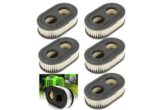 1/2/3/4/5pcs Lawn Mower Lawnmowers Air Filter for Briggs & Stratton 798452 5432 5432K 593260 Replacement
