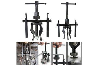 3 Jaw Inner Bearing Puller Gear Extractor Automotive Machine Tool Kit Heavy Duty