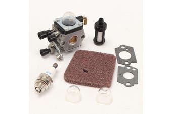 Carburetor Carb Air Filter kit For STIHL FS38 FS45 FS46 FS55 FS55R FS55RC Lawnmower Trimmer