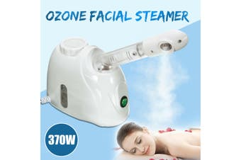 370W Facial Steamer Face Sprayer Deep Pores Mist Thermal Spa Skin Cleanser