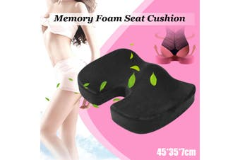 Coccyx Orthopedic Memory Foam Seat Cushion Offic Chair Car Seat Back Pain Relief