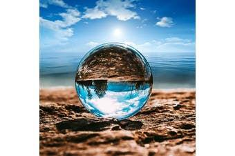 110MM Glass Crystal Ball Sphere Photography Photo Shooting Props Lens Clear Round Artificial Ball Decor