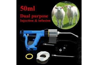 50ml Continuous Drench for Cattle Sheep Goats Oral Injection & Infusion