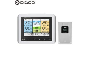 Digoo DG-TH8888 Pro Wireless Sensor Weather Station Thermometer Hygrometer Home Thermometer USB Outdoor Forecast Clock