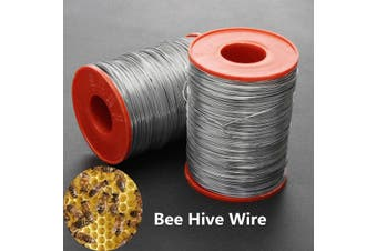 500G 304 Stainless Steel Frame Wire Bee Hives 200M Frame Foundation Wire Bee Keeping Tool