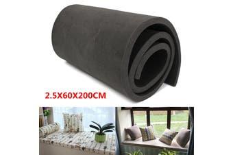 "79""X24"" Upholstery Black High Density Foam Cushion Rubber Sheets Sofa Seat Pads"