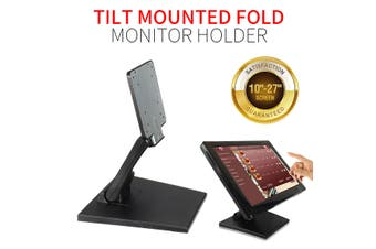 Universal 10''-27'' Monitor Mount Holder Stand Folding Touchscreen Monitor Holder Bracket