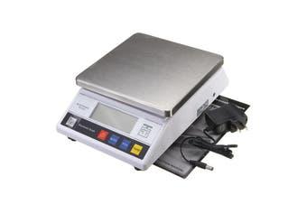 7.5kg x0.1g 10kg 5 6 3kg x 0.1g Big Digital Electronic Food Balance Scale LB Lab Weigh 457A