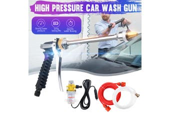 NEW(Storage Bag+Car Charger) 1 set 60W 160psi High Pressure Mini Car Electric Washer Car Cleaner Water Wash Pump Sprayer Car Cleanning Tool Kit DC12V-Overcurrent protection function
