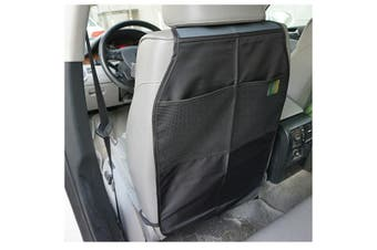 Car Auto Nylon Seat Back Protector Cover Case For Children Kick Mat Storage Bag