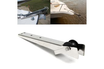 38.7cm length Stainless Steel Fairlead Heavy Bow Anchor Roller For Boat Yacht Marine 15.2inch