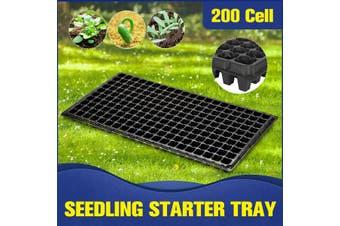 200Hole Plant Seeds Grow Box Insert Propagation Nursery Seedling Starter