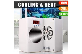 Fish Tank Aquarium Chiller Water Cooler & Warmer For Below 20L Marine Tank Water Temperature Conditioner Aquarium Accessories