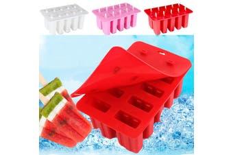 10Pcs Ice Cream Mold Frozen Lolly Mould Juice Maker Popsicle Yogurt Icebox