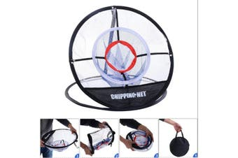 20'' Portable Golf Training Chipping Net Hitting Aid Practice Indoor Outdoor Bag