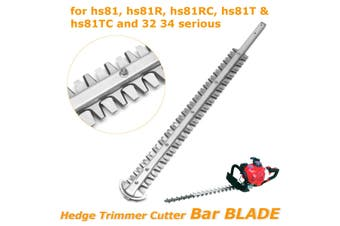 Cutter Bar Blade Assy for Stihl Hedge Trimmer HS81 HS81R HS81RC HS81T HS81TC(silver)