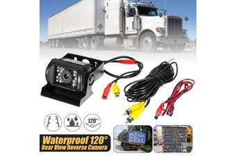 Car Trucks Caravans Buses Rear View CCD 120° Angle IR Night Vision Waterproof Reverse Backup Parking Camara