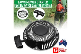 Pull Recoil Start Lawn Mower Starter Assembly For 1P60/64 Petrol Engines UK