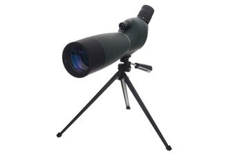 25-75X70 Zoomable Monocular Telescope with Tripod High Light Transmittance Spotting Scope Hunting Optics for Bird Watching