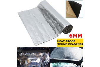 "177""*39 "" 48 sqft 6MM Sound Deadener - Block Heat & Sound - Automotive Car Insulation MAT"