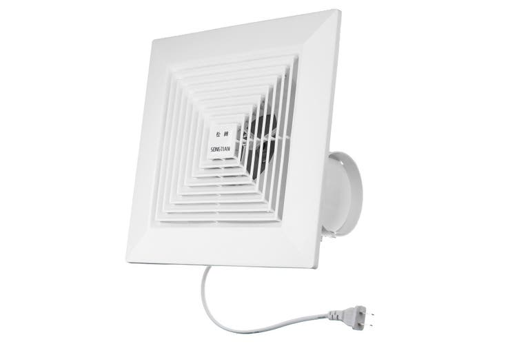 Free Shipping + Flash Deal 38W 8 inch Kitchen Bathroom Window Ceiling Wall Mount Ventilation Exhaust Fan