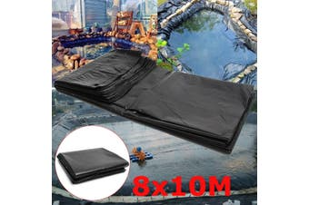 26.24x32.80inch Garden Large Durable HDPE Waterproof Pond Liners (8x10M)