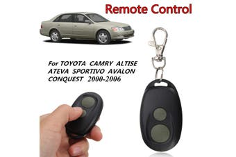 2 Button Keyless Entry Fob Remote Control Fit Toyota Camry Avalon CONQUEST ATEVA