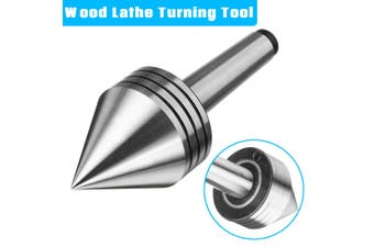 MT2 Rotary Live Center Shaft Taper Heavy Duty Bearing Lathe Metal Wood Turning