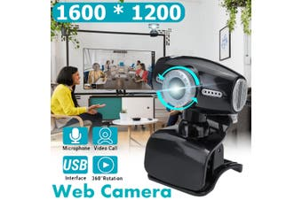 HD 1200P USB Webcam with Microphone Web Camera For PC Laptop Desktop