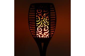 LED Flickering landscape Lamp Dancing Flame Solar Torch Garden Light AU