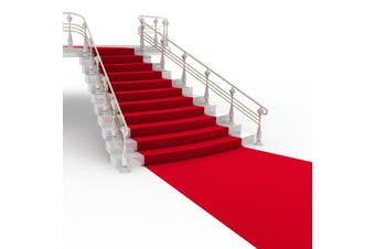 50x4ft Large Red Carpet Wedding Aisle Floor Runner Hollywood Party Decoration