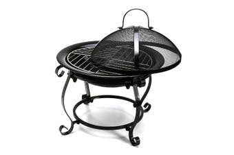Outdoor Pit BBQ Portable Camping Fireplace Heater Patio Garden Grill
