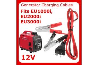 PET-353 Honda 12V DC Charging Cord Cable EU1000i EU2000i Charger 12 Volt Wires