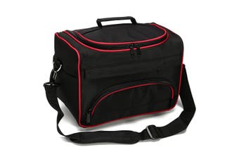 Professional Hair Stylist Salon Barber Hairdressing S cissors Combs Tool Bag Case