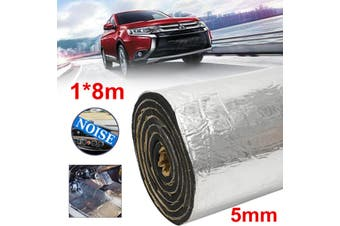 1M x 8M 5mm Closed Cell Foam Car Auto Sound Deadener Insulation Noise Proofing