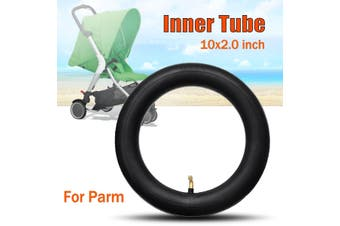 1/2pcs Inner Tube Bent Tyres Schrader Valve Stem Stroller For Pram Kid Bike 10 x 2""