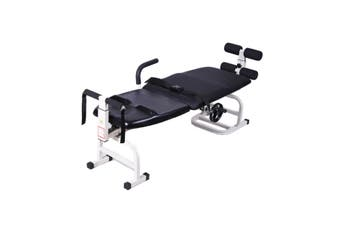 Therapy Massage Bed Table Cervical Lumbar Traction Body Stretching Device Home