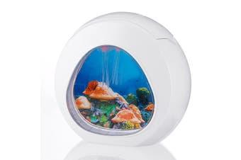 Deluxe LED Light Glowing Jellyfish Aquarium Fish Pets Tank Household Home Decor