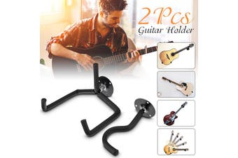 Guitar Floor Stand Holder Frame Wall Mount Universal Fits Acoustic Electric Bass