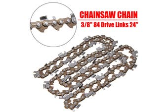 """24"""" Chainsaw Chain 3/8 Inch 84 Drive Links Replace For Semi Chisel For Husqvarna"""